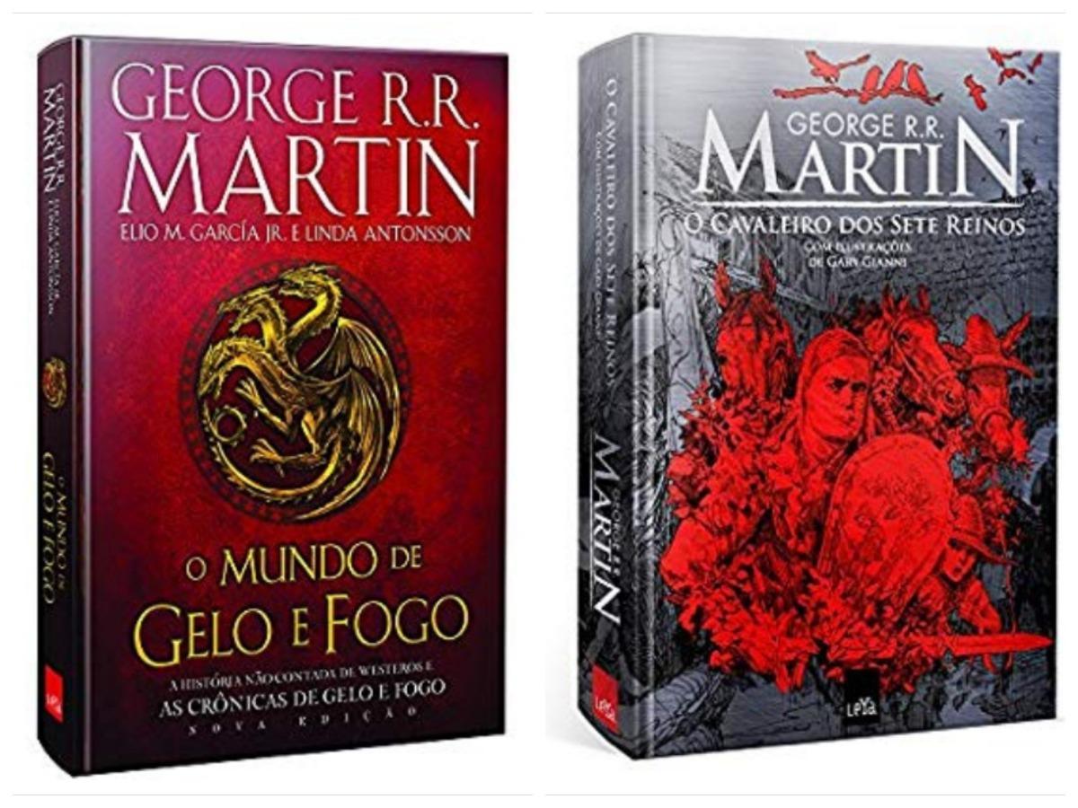 dcd6eb39c livro mundo de gelo e fogo luxo + o cavaleiro 7 reinos ilust. Carregando  zoom.