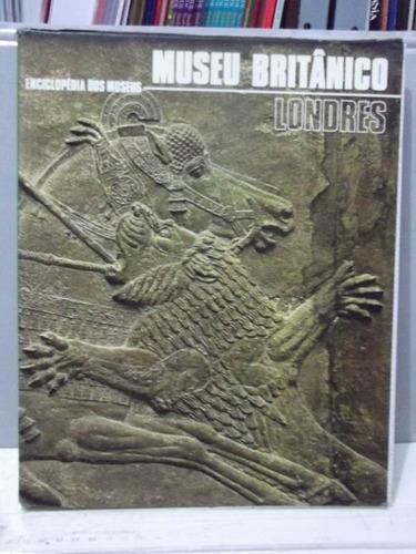 livro museu britânico londres - enciclopédia dos museus