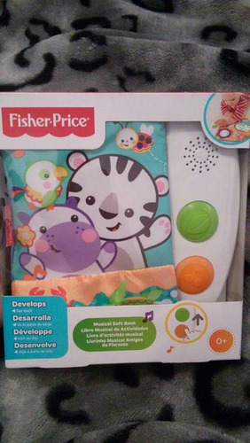 livro musical fisher price
