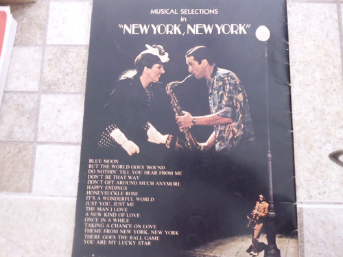 livro musical selections in new york, new york