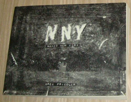 livro n n y - naked new york ( inglês )