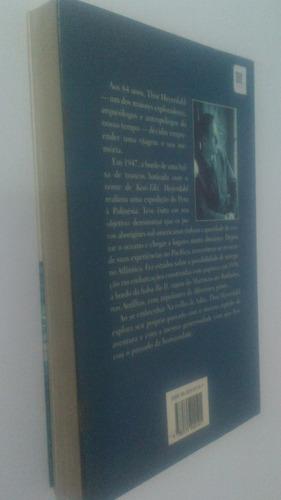 livro na trilha de adão - thor heyerdahl