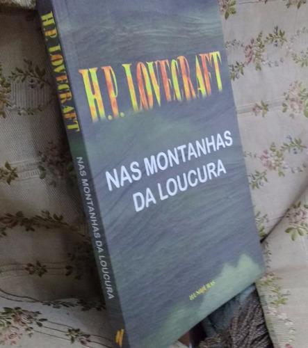 livro nas montanhas da loucura, h.p. lovecraft