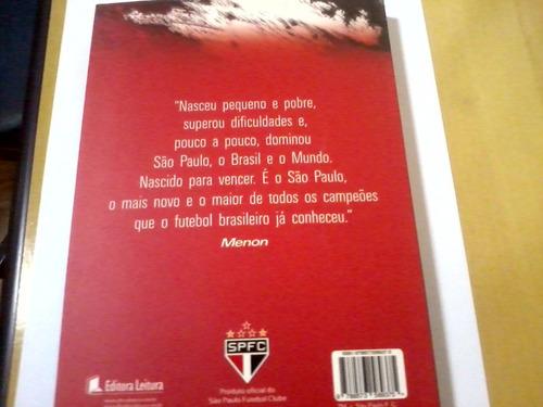 livro nascido para vencer são paulo futebol clube