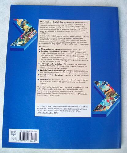 livro: new headway intermediate - student's book - soars