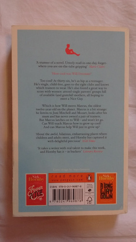 livro nick hornby - about a boy