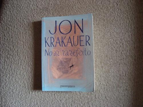livro -  no ar rarefeito  (jon krakauer)