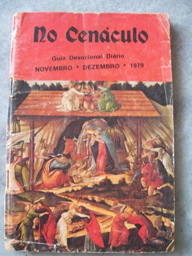 livro - no cenáculo - guia devocional diário - nov/dez -1979