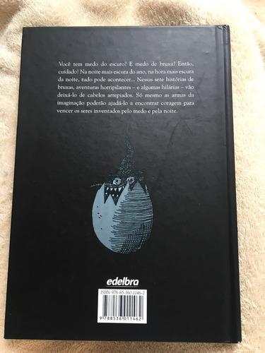 livro- no escuro sete histórias tenebrosas de bruxa- edelbra