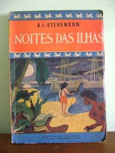 livro noites das ilhas - r. l. stevenson - 1951