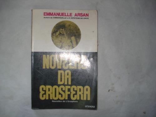 livro - novelas da erosfera - emmanuelle arsan