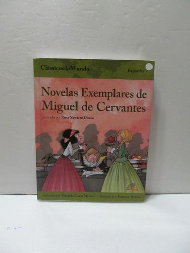 livro novelas exemplares de miguel de cervantes arte som