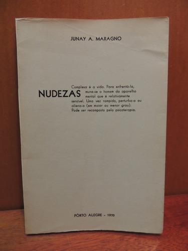 livro nudezas junay a. maragno autografado