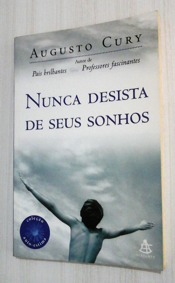Tag Livro De Augusto Cury Nunca Desista Dos Seus Sonhos