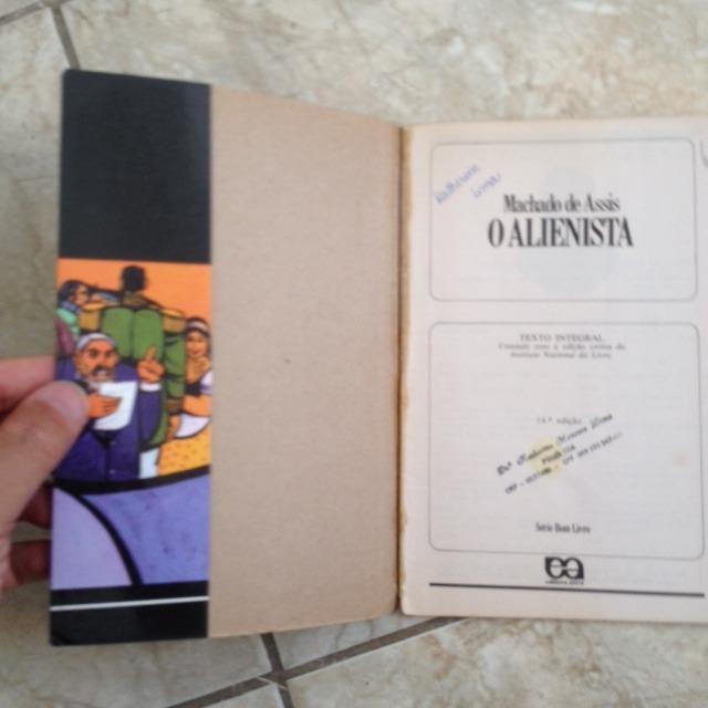 Livro O Alienista - Machado De Assis - R$ 26,00 em Mercado