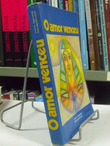 livro - o amor venceu - zibia m. gasparetto