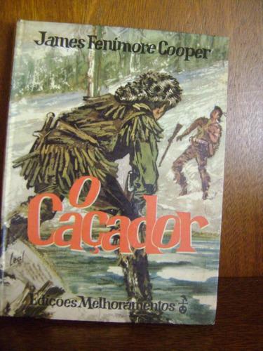 livro o caçador - james fenimore cooper