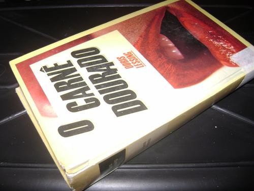 livro o carnê dourado - de doris lessing - livro bom estado