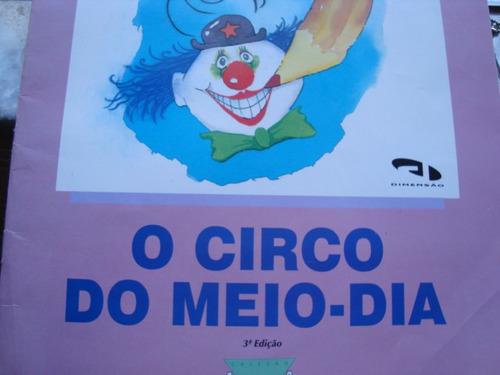 livro o circo do meio dia  sylvia manzano arte som
