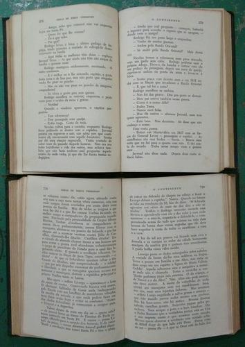 livro o continente - o tempo e o vento - 2 volumes