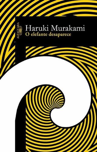 livro o elefante desaparece - de haruki murakami