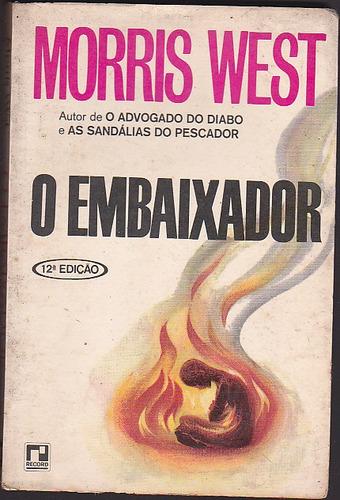 livro o embaixador - morris west - editora record