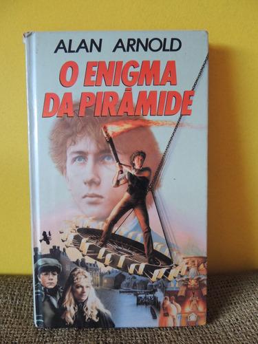 livro o enigma da pirâmide - alan arnold