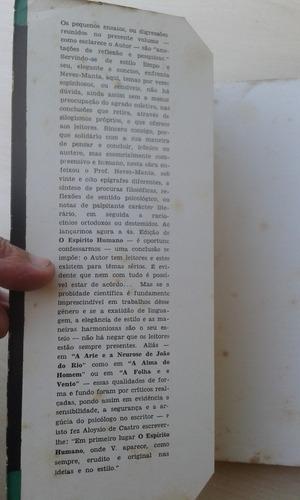 livro - o espírito humano - i. de l. neves-manta