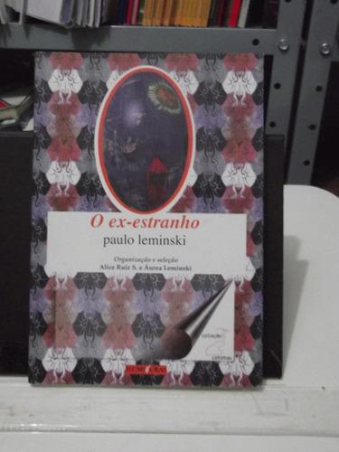 livro - o ex - estranho - paulo leminski