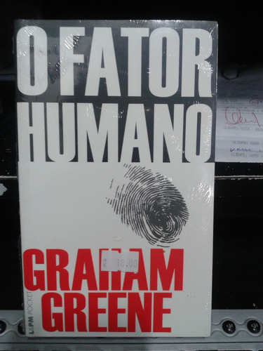 livro - o fator humano - graham greene