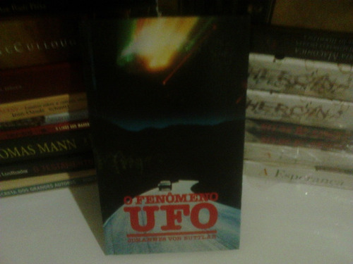 livro o fenômeno ufo - johannes von buttlar