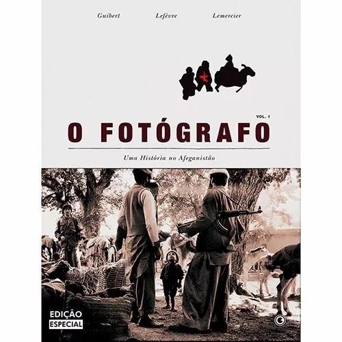 livro o fotógrafo: uma história no afeganistão
