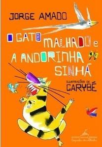 livro - o gato malhado e a andorinha sinhá (frete grátis)