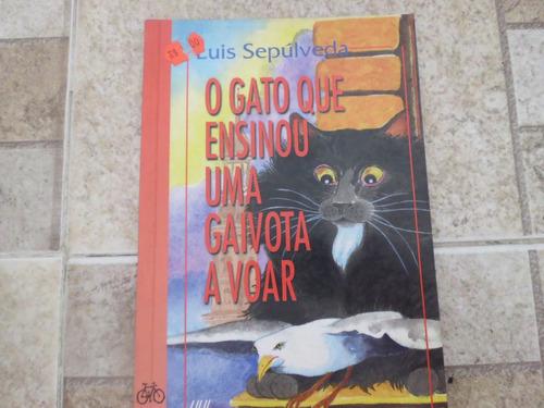 livro o gato que ensinou uma gaivota a voar