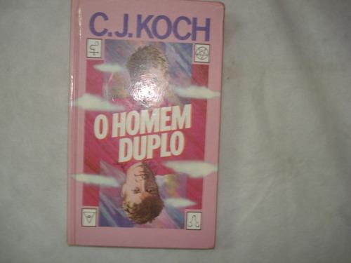 livro - o homem duplo - c. j. koch