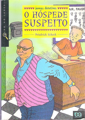 livro o hóspede suspeito friedrich scheck
