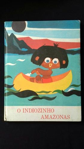 livro o indiozinho amazonas jannart ribeiro paraíso infância