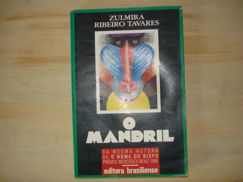 livro - o mandril - zulmira ribeiro tavares