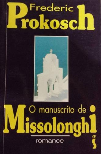 livro o manuscrito de missiolonghi