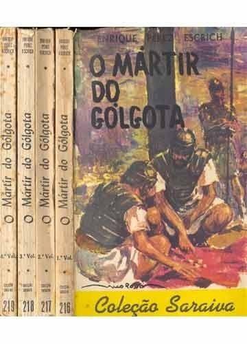 livro o martir do golgota