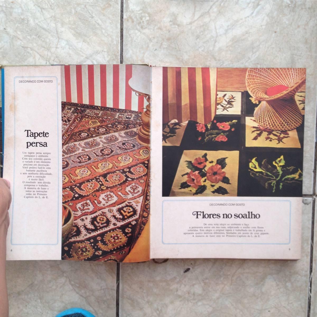 Livro O Melhor Bordado 1973 - 324 Páginas - Capa Dura C2 - R  45 bb9ff7f4fef