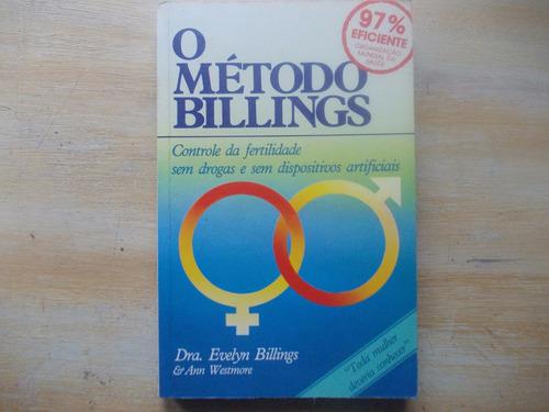 livro o método billings fertilidade evelyn billings c anexo