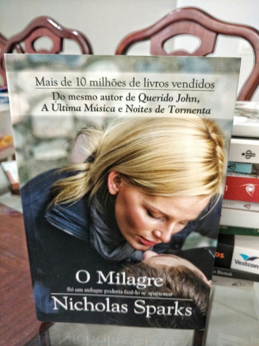 livros de nicholas sparks o milagre
