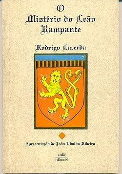 livro - o mistério do leão rampante - rodrigo lacerda