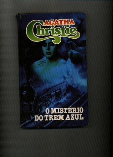 livro o misterio do trem azul - agatha cristie