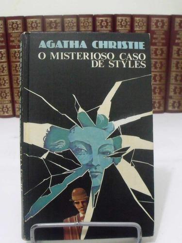 livro - o misterioso caso de styles - agatha christie