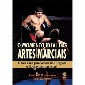 livro o momento ideal das artes marciais