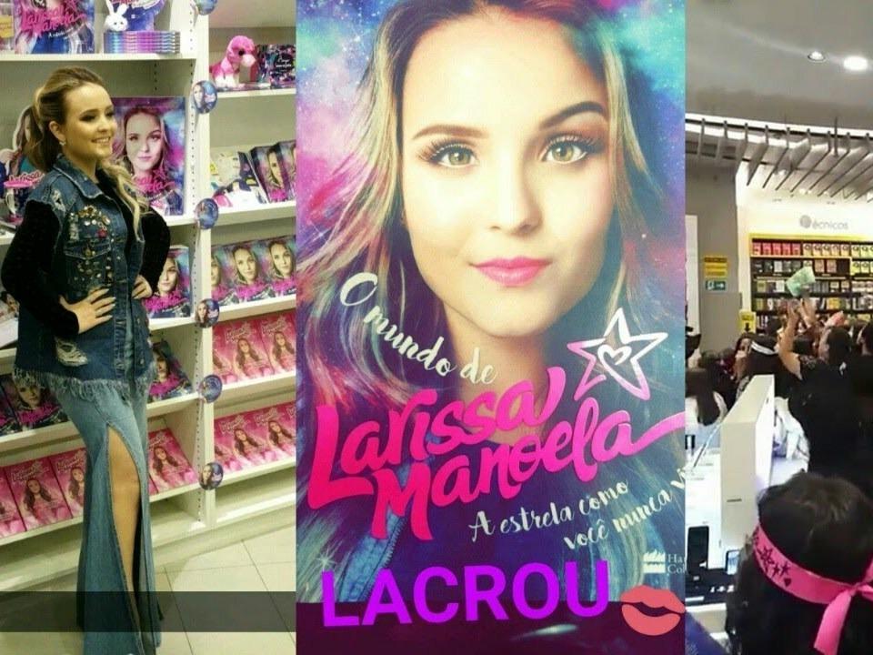 d88acd28a8d8f Livro - O Mundo De Larissa Manoela - R  45