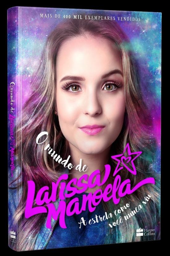 Livro O Mundo De Larissa Manoela - R  22,90 em Mercado Livre d99f14a651