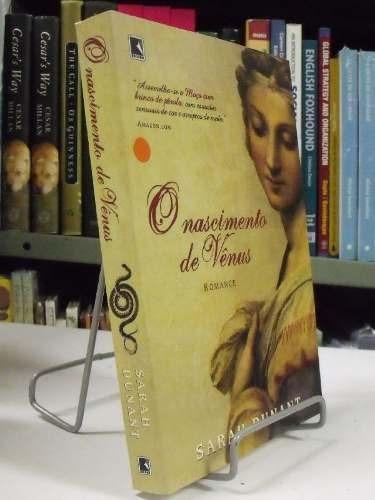 livro - o nascimento de vênus - sarah dunant